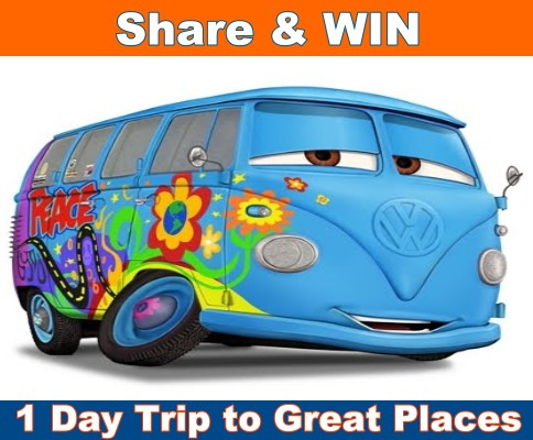 Share and WIN a Free 1-Day Trip